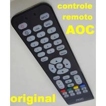 Controle Remoto Original Tv Led Lcd Aoc Serve Todos Modelos