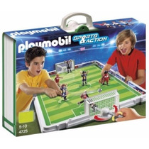 Retromex Playmobil 4725 Cancha D Futbol Deporte Ciudad