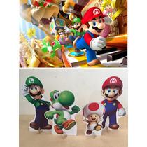 Kit Display Toten Cenário Mario 8 Peças + Painel 2,00x1,40mt