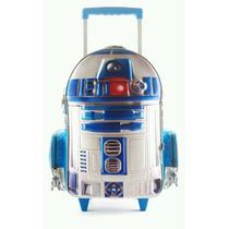 Mochila Carro 3d Star Wars R2d2 17 Pulgadas Wabro Orginal