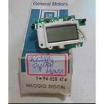 Relógio Digital Painel Monza Original Gm 94658474