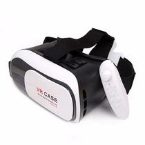 Lentes De Realidad Virtual Vr Case Bluetooth Ios Android