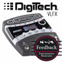 Digitech Vlfx - Pedalera Para Voces Con Vocalist