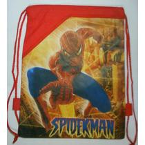 Bolso Para Cotillon Tula Spiderman