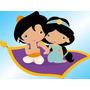 Kit Imprimible Candy Bar Princesa Jasmine Aladdin Cumples