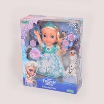 Frozen Muñeca Glowing Elsa Canta Y Se Ilumina Tv Orig Ditoys