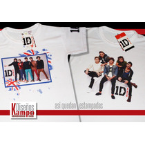 Remera One Direction 2015