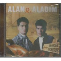 Cd - Alan & Aladim - Grandes Sucessos - Lacrado