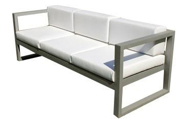 sillon para exterior de aluminio de 3 cuerpos sillon de sum