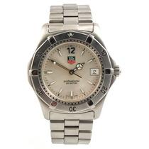 Relógio Tag Heuer Wk1112 Mostrador Prateado Quartzo