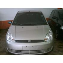 Fiesta Sedan 1.6 2006 Prata Completo