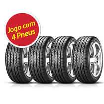 Kit 4 Aro 17 Pneu Pirelli 245/45r17 Pzero Xl Nerogt 99y