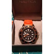 Reloj Nautica Para Buceo 200m No Victorinox Luminox Swatch