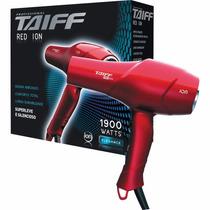 Secador De Cabelos Red Ion Vermelho Taiff 1900w 110v Nf