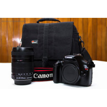 Camara Dslr Canon Rebel T3 Como Nueva