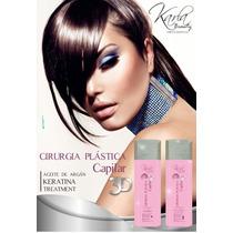 Cirugia Capilar Karla 3d Original Keratina Brasilera X Litro