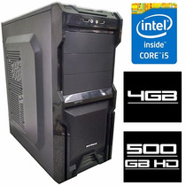 Cpu Pc Intel Core I5 4gb Hd 500 C/ Garantia
