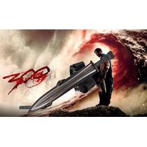 Espada Espartana Xiphos De 300 Fulltang Con Filo Y Cinturon