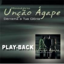 Play-back Unção Ágape Derrama A Tua Glória Lacrado Raridade