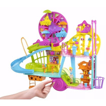 Super Casa Polly Pocket Wall Party Centro Comercial - Mattel