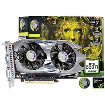 Placa De Video Geforce Nvidia Gtx 550 Ti 1gb Gddr5 192 Bits