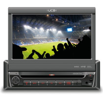 Dvd Player Ucb Ucb-dr171av Tela 7´ Retrátil Tv Digital,usb