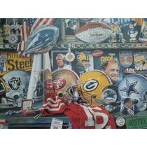 Cartel Super Bowl Xxv Edicion Conmemorativa Original