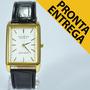Relógio Masculino Barato Retangular Pulseira De Couro