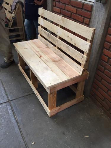 Banca de madera reciclada en mercado libre for App para hacer muebles