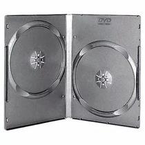 Cajas Dvd Cd 14mm Dobles X 100 Unidades Calidad . Oferta!