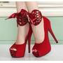 Sapatos Femininos Importados Salto Alto - Frete Grátis