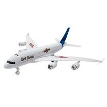 Avião Comercial Fricção Brinquedo Infantil