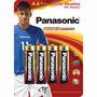 Pilha Panasonic Alcalina Power Alkaline Aa Neymar Jr