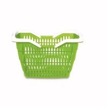 Cesta Cestinhas Mercado Verde - Kit 6 Peças - Frete Grátis
