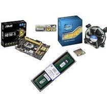 Kit Placa Mãe H81m-k Box + Core I3 4160 3.60 Ghz Com Cooler!