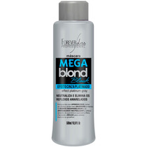 Forever Liss Máscara Matizadora Anti Yellow Mega Blond Black