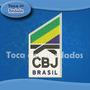 Patch Bordado Cbj Confederação Brasileira Judo 10x6cm Esp63
