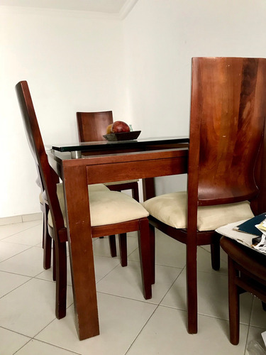 Comedor 6 Puestos- Madera Cedro// Precio Negociable! - $ 2.000.000 ...