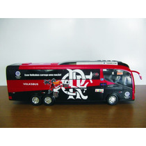 Miniatura Ônibus Flamengo - Times De Futebol