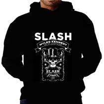 Blusa Moletom Slash Guns Roses Capuz Bolso Banda Moletons