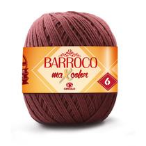 Barbante Barroco Maxcolor 400gr - Kit 6un -12x- Frete Gratis