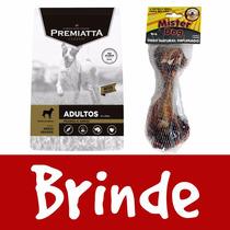 Ração Premiatta Cães Adultos Classic Frango 15kg + Brinde