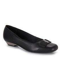 Sapato Salto Conforto Feminino Usaflex By Perfetto - Preto