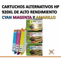 Cartuchos Alternativos Hp 920xl Para Officejet 6000 6500...