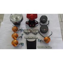 Kit Acessórios Cg 125 76 A 82 Bolinha Honda