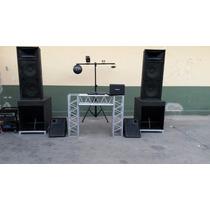 Miniteca Completa Sonido Profesional Y Camioneta Pickup