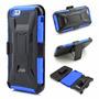 Carcasa Armadura Alto Impacto + Clip Cinturón X Style Iphone