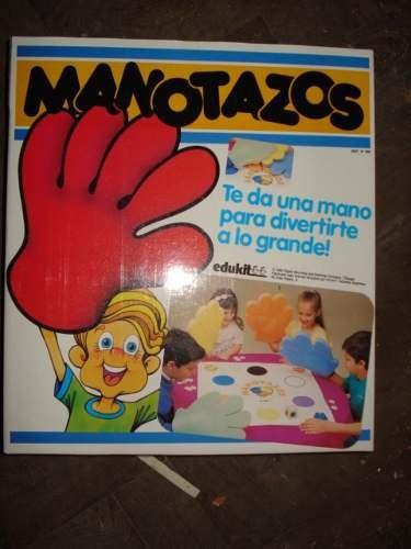Juego De Mesa Manotazos Nuevo Sin Uso Decada Del 90 676 80