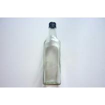 Botella De Vidrio 500 Ml 12 Pz Recuerdos Tequila Jugo Bebida