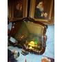 Espejo Biselado Antiguo Frances Marco Madera Tallado